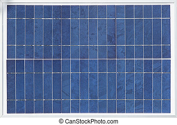 Solar panel made from a monocrystalline silicon wafer