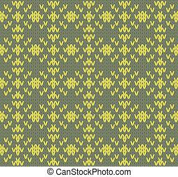 Seamless knit pattern imitation