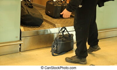 Baggage at the airport
