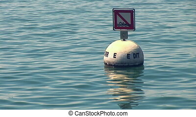 buoy in the lake