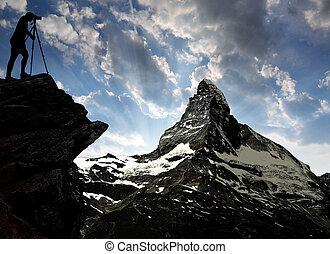 Matterhorn-Swiss Alps