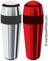 thermos - Thermos isolated vector illustration eps 10