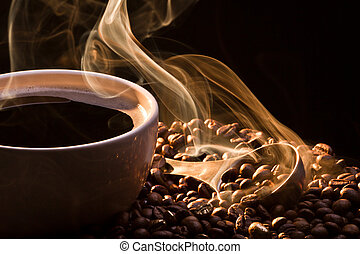Coffee, smoke and seeds