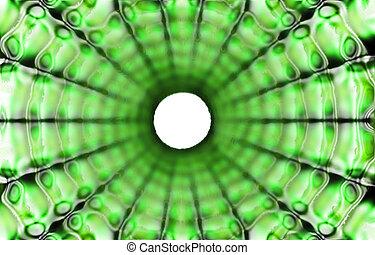Abstrakcyjny, zielony, tło