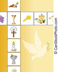 religion background - illustration of religion background...