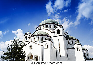 Sveti Sava - The biggest Orthodox Church in the Balkans,...