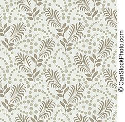 Seamless designer leaves wallpaper