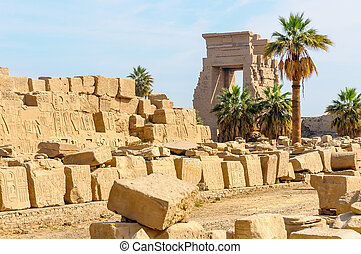 Karnak temple in Luxor, Egypt.