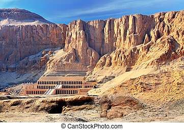 Hatshepsut Temple in the Valley of the Kings - The...