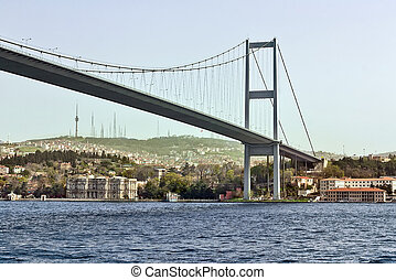 Bosphorus Bridge, Istanbul - The Bosphorus Bridge is one of...