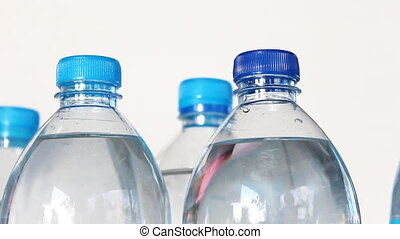 Dolly scene , Fresh water in bottle - Fresh water in bottle...