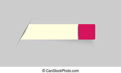 blank bar with tag