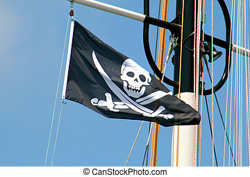 Pirate Flag - pirate skull symbol