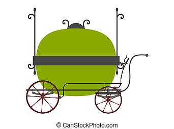 Vendors cart - Retro vendors cart