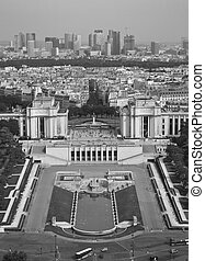 Downtown Paris From Eiffel Tower - Taken from the 2nd level...