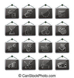 Web Site and Internet icons