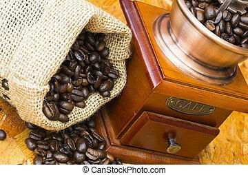 fresco, asado, café, frijoles, viejo, café,...