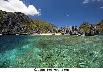 El Nido - Untouched nature in El Nido, Palawan, Philippines