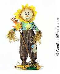 Happy ScareCrow Puppet - A Happy ScareCrow Handmade Puppet...