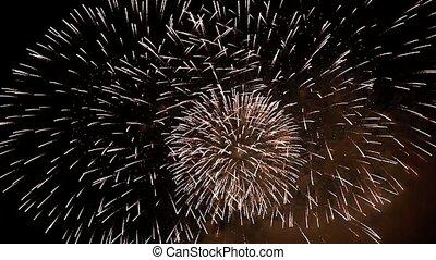 fireworks - close-up of fireworks