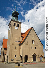 Old classic church in Poland