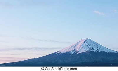 Mt. Fuji at dawn