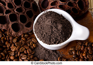 Coffee Scrub - Coffee skin scrub for spa