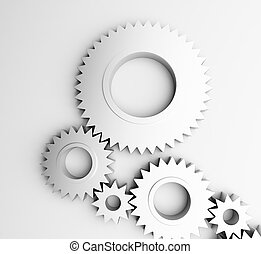 gear isolated on a white background