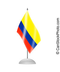 The Colombian flag