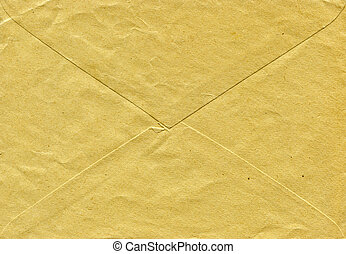 Old envelope paperstructure for background and designe