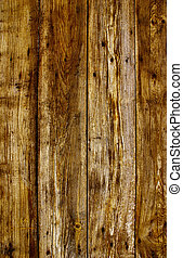 Weathered planks - Obsolete weathered wooden rough planks...
