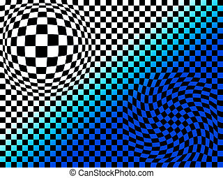 Abstract chess board look background