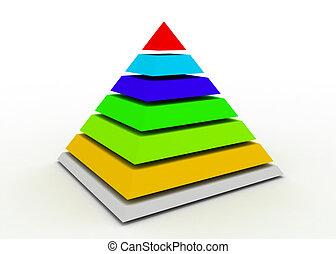abstract pyramid