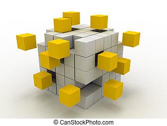 teamwork business concept