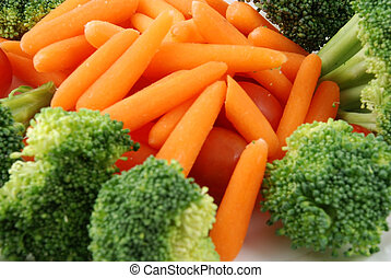 Tray of vegetables - Stock pictures of vegetables ready to...