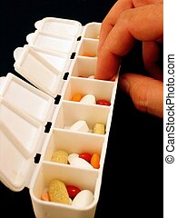 Medicine and pharmaceutics - Medicine, pills and...