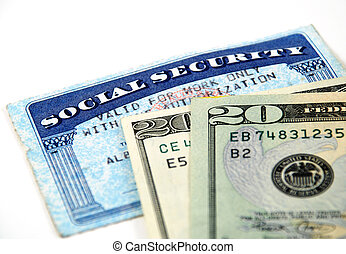 social security benefits - stock pictures of a social...