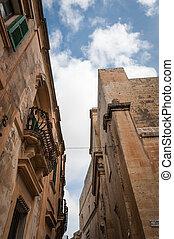 Architecture in Mdina, Malta