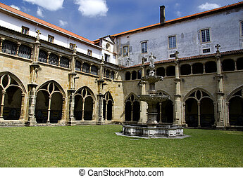 Cloister - A beautiful old cloister.