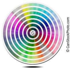 Pantone Color Palette - blur circle - Pantone color palette...