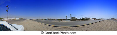South Jeddah panoramic image - The outskirts of Jeddah South...