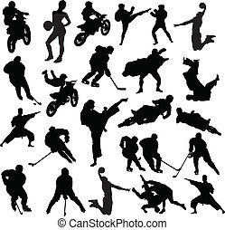 Sport collection vector