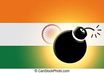 drapeau, Indien