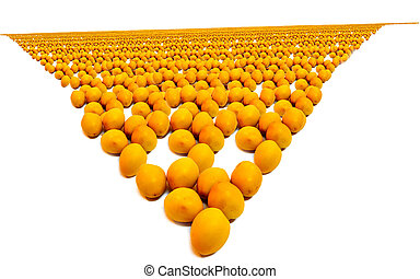 Crowds dates massive wide A large number of yellow dates...