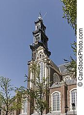 Amsterdam, Western Church, Holland - Amsterdam, Western...