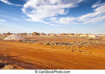 Coober Pedy - An image of the mining in Coober Pedy...