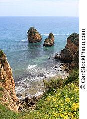 Algarve, penhascos