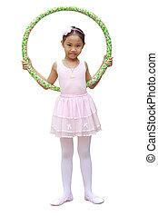Girl ballet dancer
