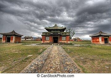 Erdene Zuu Monastery in Karakorum, ancient capital of...