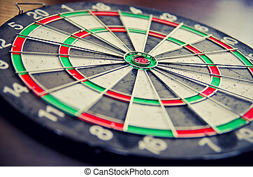 dartboard concept as a background